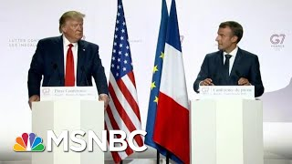 Fmr. U.S. Amb.: G7 Leaders Treated President Donald Trump With