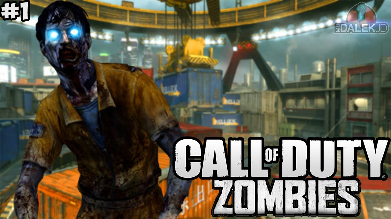 BLACK OPS 2 CARGO! - Call of Duty Zombies Custom Map \