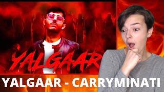 YALGAAR - CARRYMINATI X Wily Frenzy | REACTION!
