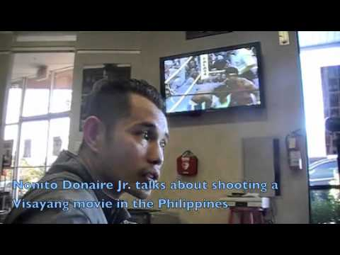 Nonito Donaire talks about shooting a movie in Manila late March