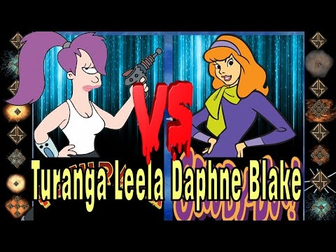 Turanga Leela (Futurama) vs Daphne Blake (Scooby Doo)- Ultimate Mugen Fight 2016