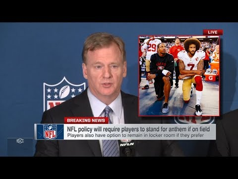 NFL Players Must Stand For National Anthem or Team Faces Fin