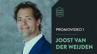 Spreker Joost van der Weijden Promovideo 1