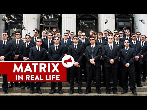 The Matrix In Real Life - Movies In Real Life (Episode 4)