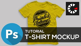 Photoshop Tutorial #1 Membuat t-shirt Mockup ( G - Tutorial )