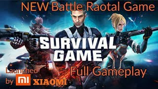 Xiaomi survival game Android / ios  New game like pubg New xiomi game for android Full Gameplay
