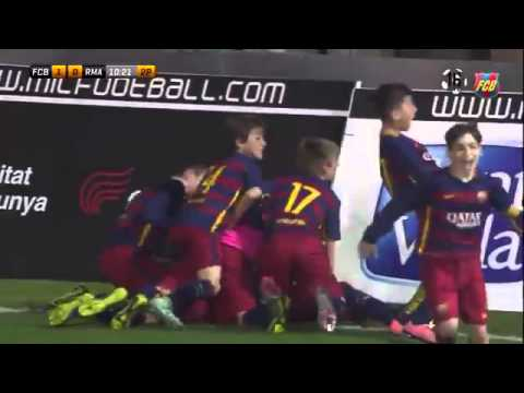 U14 : Barcelona Junior 2-0 Real Madrid Junor
