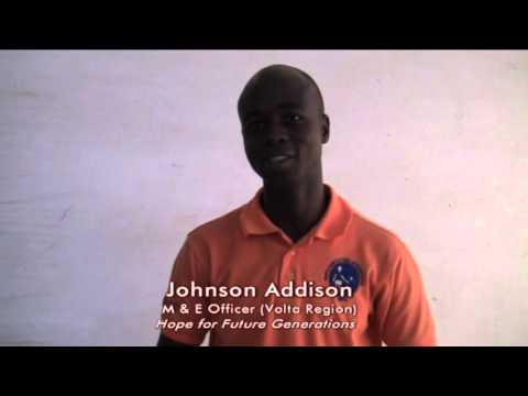 Policy Dialogue, An interview with Johnson Addison, Ghana