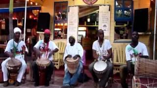 Rasta Medley - Nyabinghi Drumming JAFSP 2011