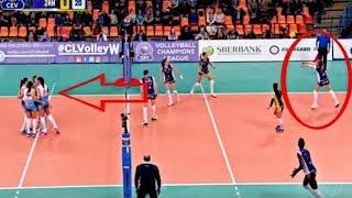 【バレーボール】まだ試合は続いていた!痛恨のミス!そしてスーパープレイ!!【衝撃】The game was still going on!【volleyball】