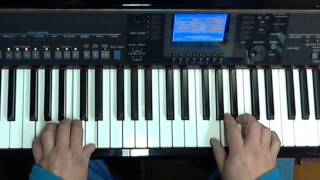 My special prayer (Ave Maria) Percy Sledge - Keyboard lesson Yamaha, Tyros, PSR or CVP