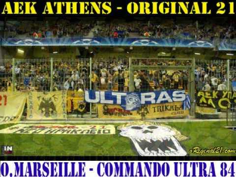 Aek Original 21 Olympique Marseille Commando Ultra 84 Brothers