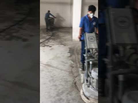 Alfan epoxy floor Grainding and painting in UAE, 0506269983
