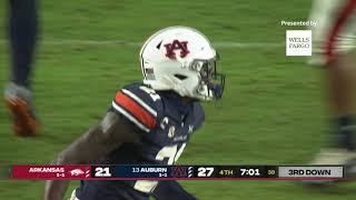 Auburn Football Vs Arkansas Highlights