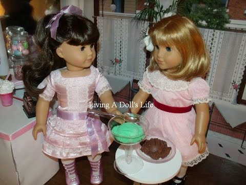 Review American Girl Doll Samantha's BE FOREVER Meet + Frilly Frock