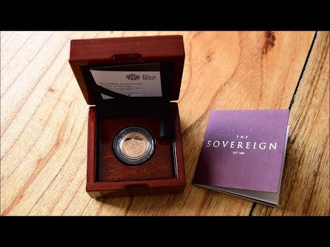 "Unboxing & Review - 2017 ""Strike on the Day"" BU Sovereign from the Royal Mint"
