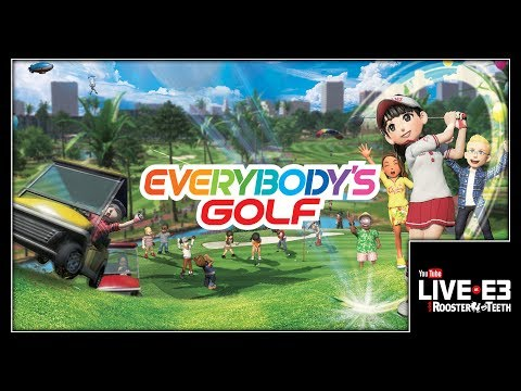 You COULD Golf, but You'll Actually Race Golf Carts... EVERYBODY'S GOLF - YouTube Live at E3