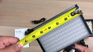ESDDI LED Camera Camcorder Video Light Panel 15W 1500LM