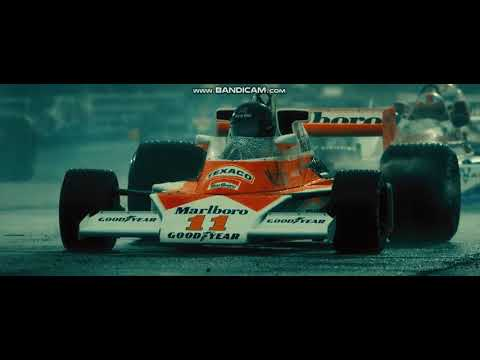 RUSH 2013 FINAL RACE - James Hunt and Nikki LAUDA  (FULL HD)