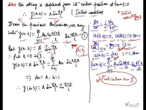 General solution of one dimensional wave equation examples