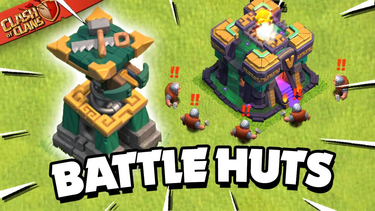 New Battle Builder Huts Explained! New Defense in Clash of Clans!