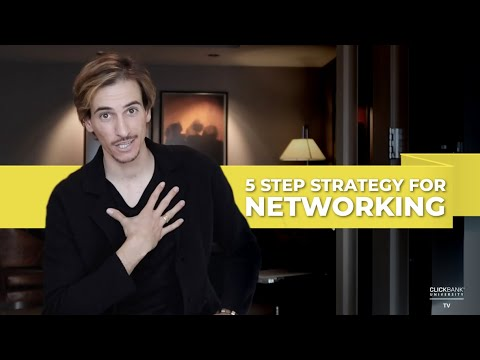 5-Step Strategy For Networking