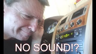 What to do when you get No Sound from the Stereo in an Aston Martin DB9