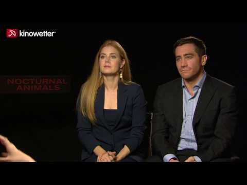 Interview Amy Adams & Jake Gyllenhaal NOCTURNAL ANIMALS