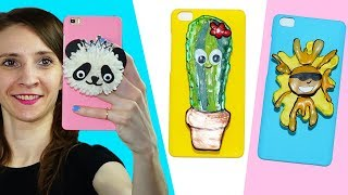 3 Awesome DIY Phone Case Ideas | DIY phone case | How to make a phone case