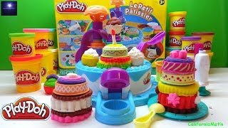 Play Doh Christmas Birthday Cake Playset Dessert Play-doh Station