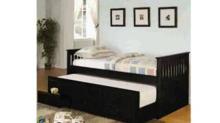 Trundle Captains Bed