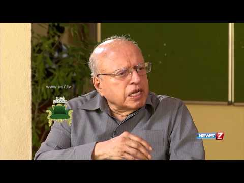 Prof M S Swaminathan in a special interview on News 7 channel's Pesum Talaimai