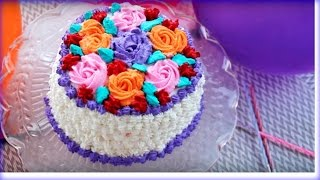 জন্মদিনের কেক || Birthday Cake || Bangladeshi Decoration Cake || Bangladeshi Birthday Cake Recipe