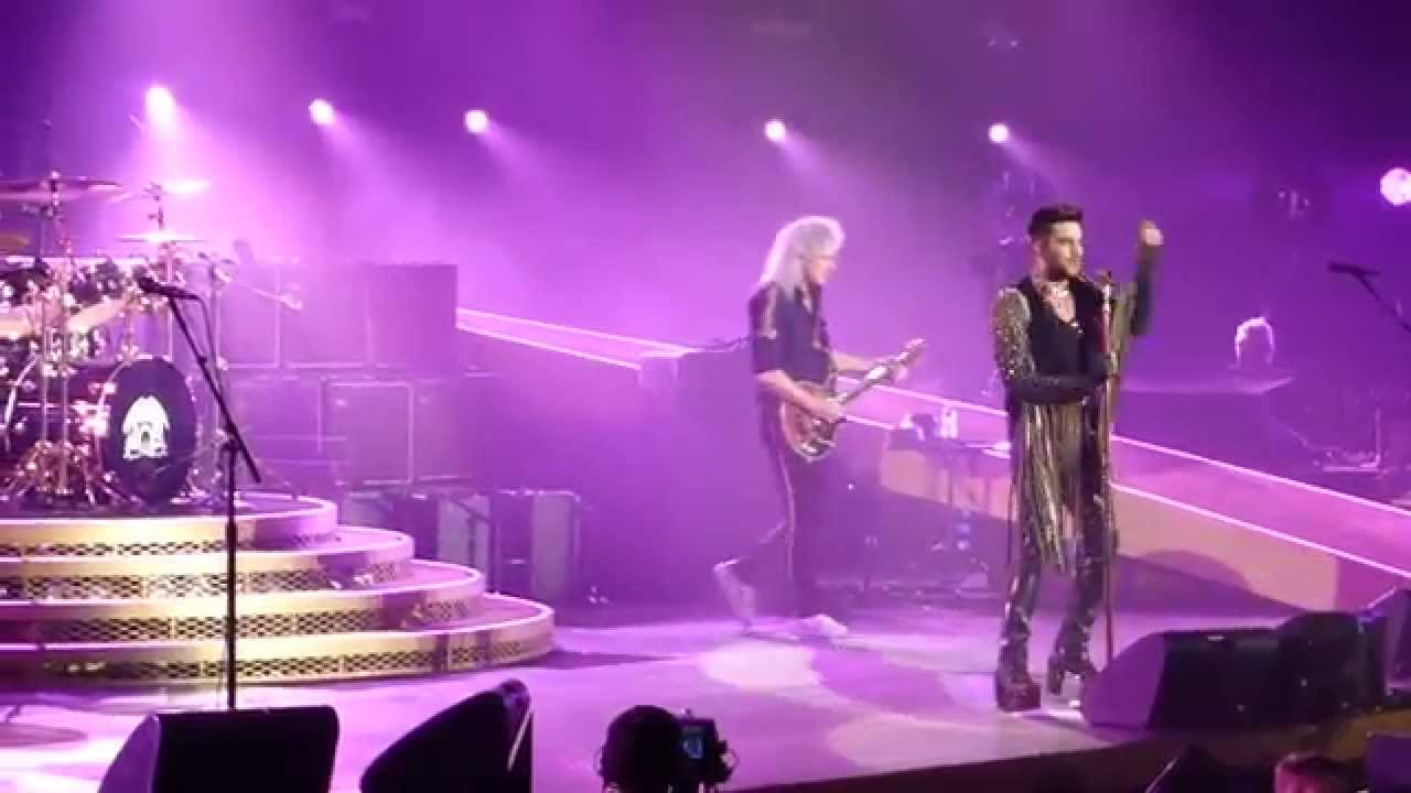 queen adam lambert i want to break free live hamburg germany youtube. Black Bedroom Furniture Sets. Home Design Ideas