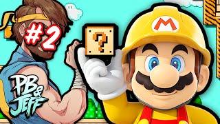 Super Mario Maker - SPACEHAMSTER LEVELS! #2