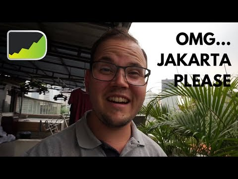 Daily Life in Jakarta & Traffic Jams Making Me Crazy | Jakar