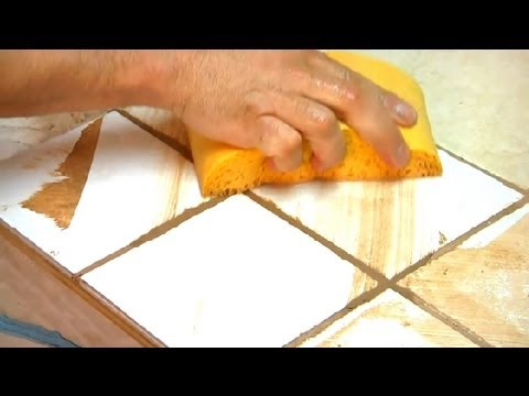 How To Regrout Bathroom Tiles : Grout Maintenance   YouTube Part 69