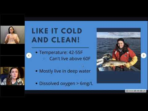 NOAA Live! Webinar 92 - Lessons from Lake Trout in Lake Champlain