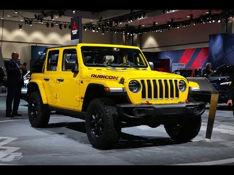 2018 Jeep Wrangler JL Rubicon Four-Door FIRST LOOK