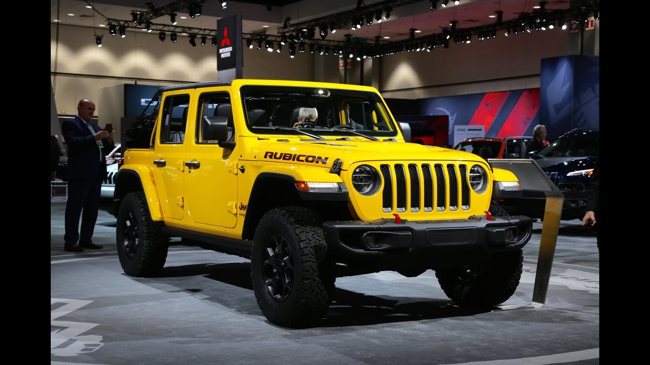 2018 Jeep Wrangler JL Rubicon Four-Door First Look (No ...