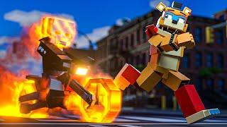 Minecraft Freddy: The Ghost Rider Strikes Back! (Minecraft FNAF Roleplay)