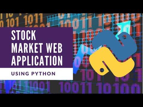 Build A Stock Web Application Using Python