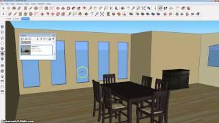 Sketchup: Animating a Virtual Walkthrough