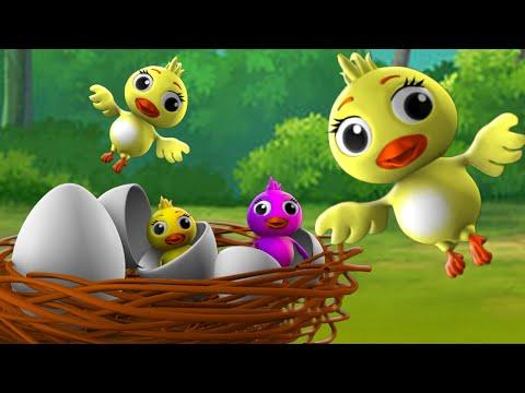 Bird's Egg Bengali Story - পাখি ডিম বাংলা গল্প 3D Animated Bangla Moral Stories Fairy Tales For Kids