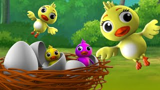 Bird's Egg Bengali Story - পাখি ডিম বাংলা গল্প 3D Animated Bangla Moral Stories Fairy Tales for Kids