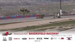 M1GP Bakersfield Preseason Test Feb  6, 2016