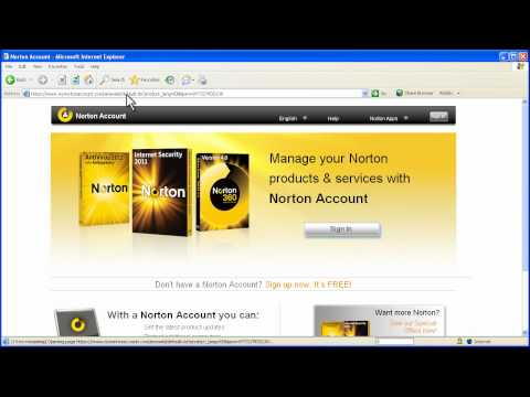 How to use your Norton Account - YouTube