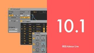 Ableton Live 10.1: CV Tools