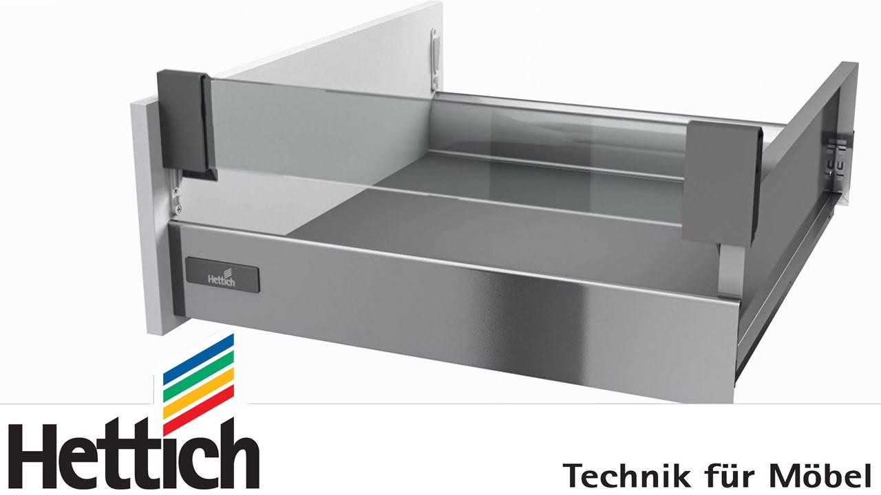 innotech schubkastensystem: bau, montage und verstellung von ... - Schubladen Küche Nachrüsten