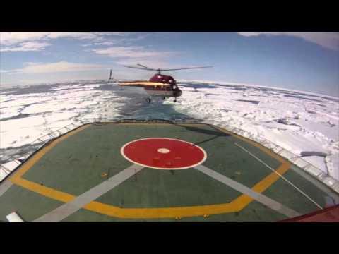 Kapitan Khlebnikov: Helicopter Access